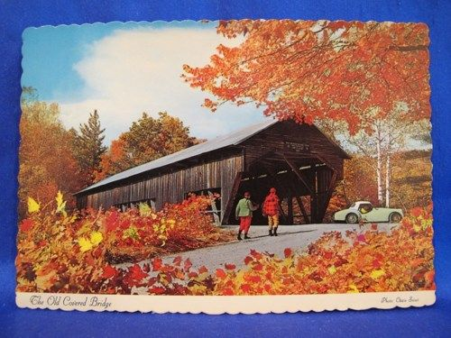 Gallery For Vintage Autumn Postcards