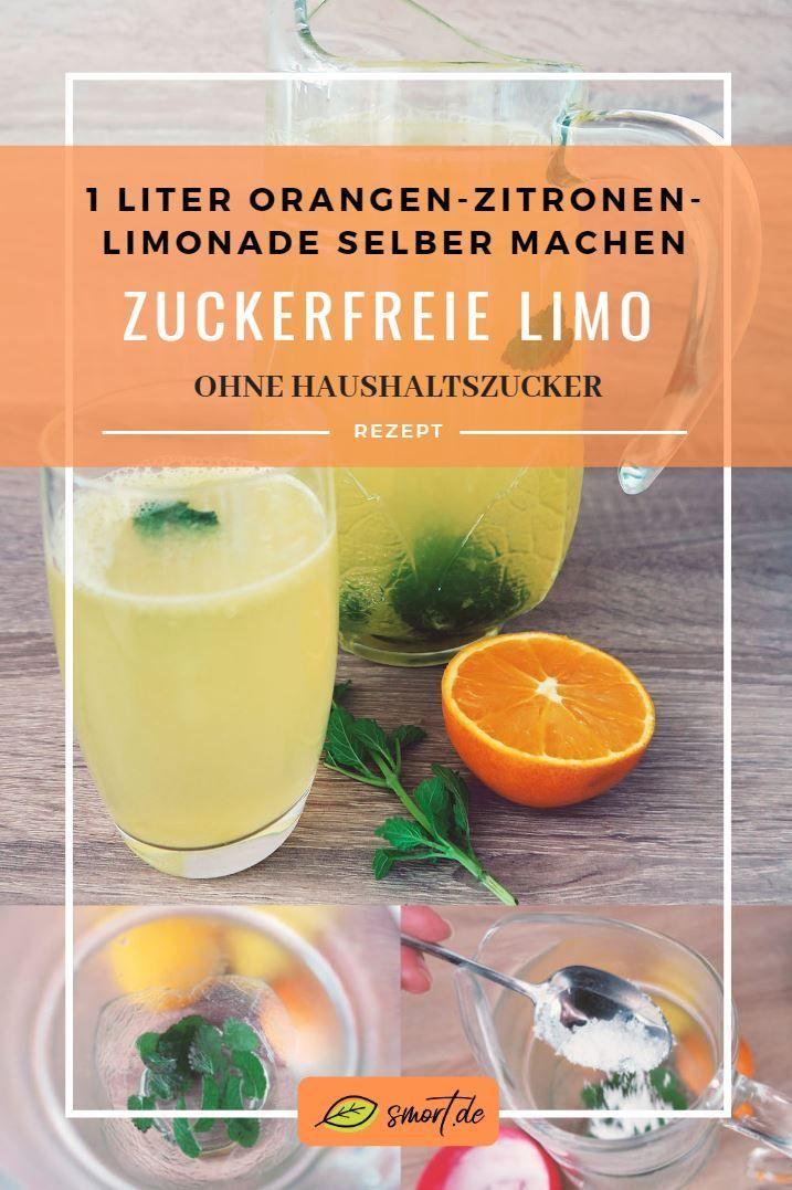 Lecker & figurfreundlich: Orangen-Zitronen-Limonade selber machen