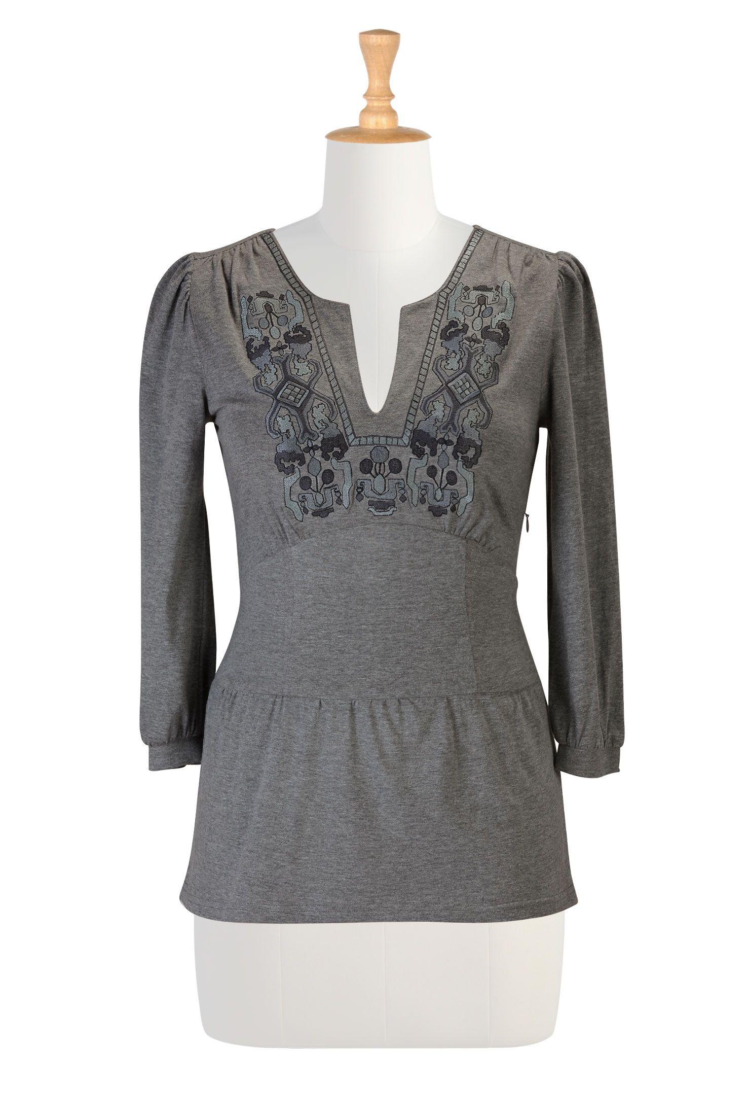 058603c7e75 Womens designer clothing - Shop favorite Tops