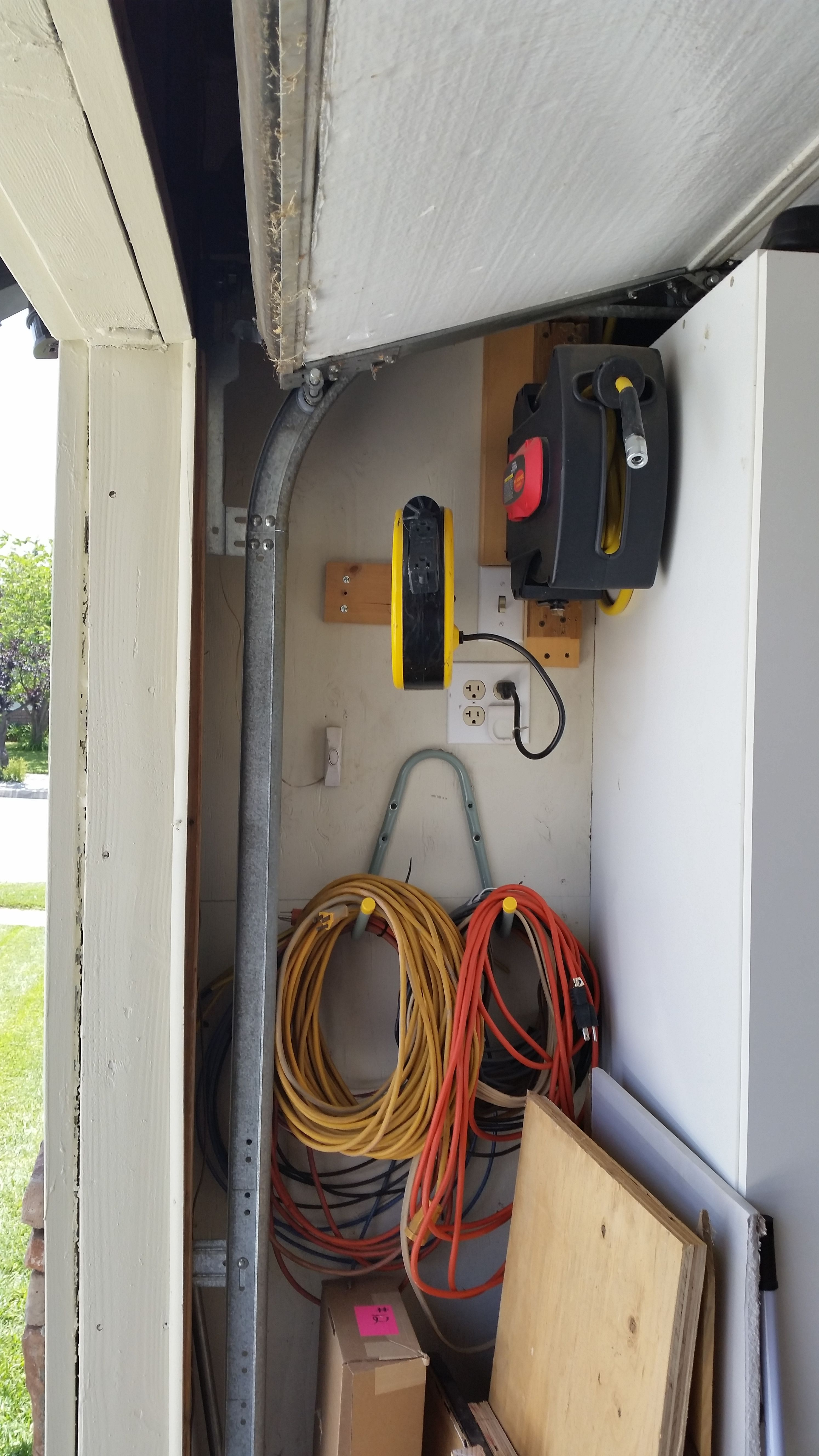 Remote Air Compressor Switch Air And Elec Hose Reels Extension