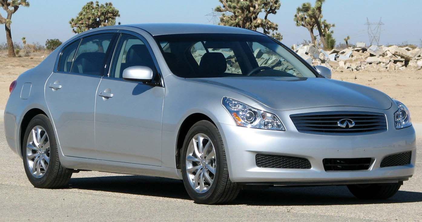 2008 Infiniti G35 UsedEngine Description (4 Dr Sdn