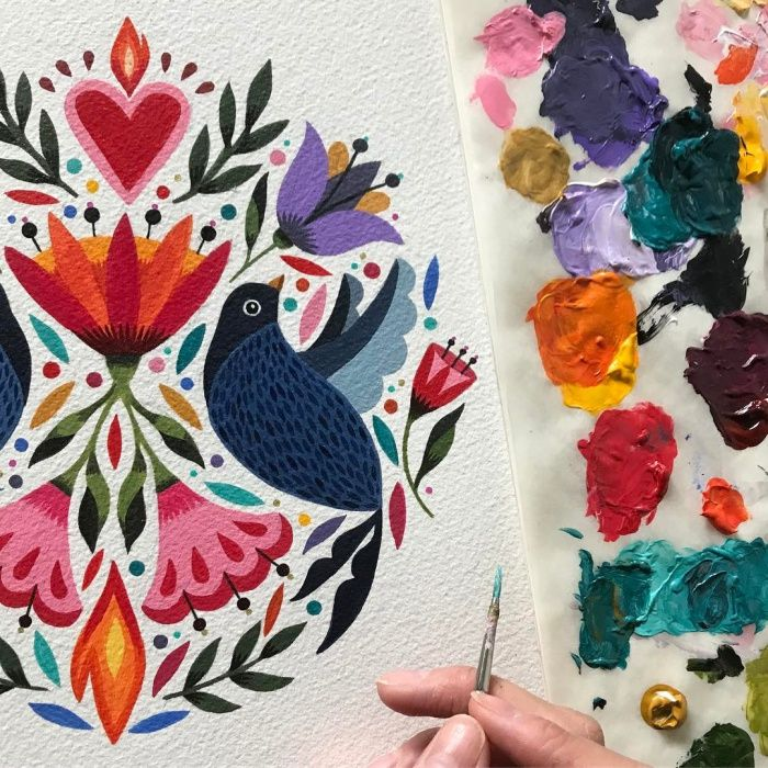 Maya Hanisch - Chilean Folk Tales | Patternbank