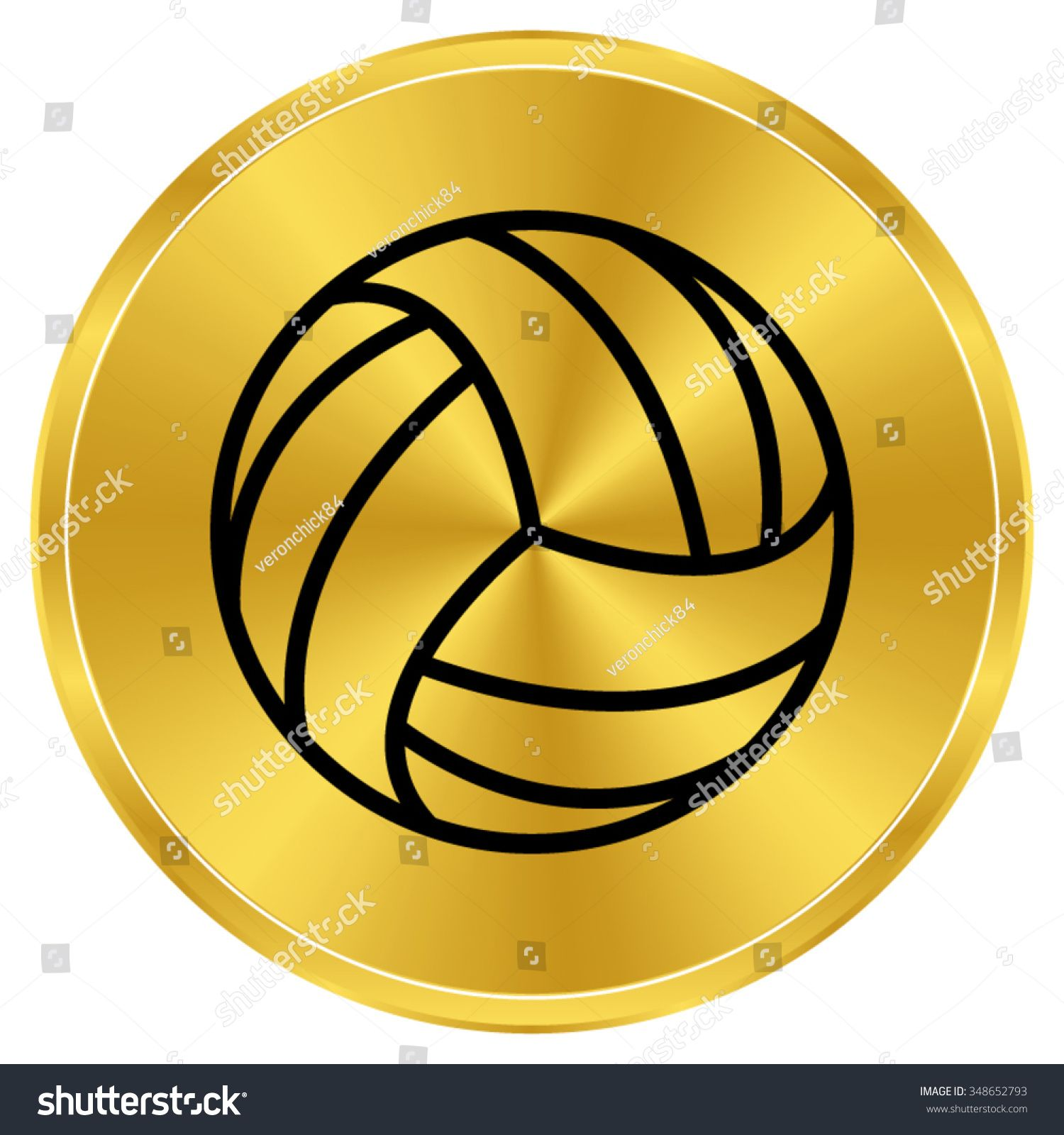 Volleyball Ball Gold Vector Icon Ad Ad Ball Volleyball Gold Icon In 2020 Photo Editing Flyer Mockup Stock Photos