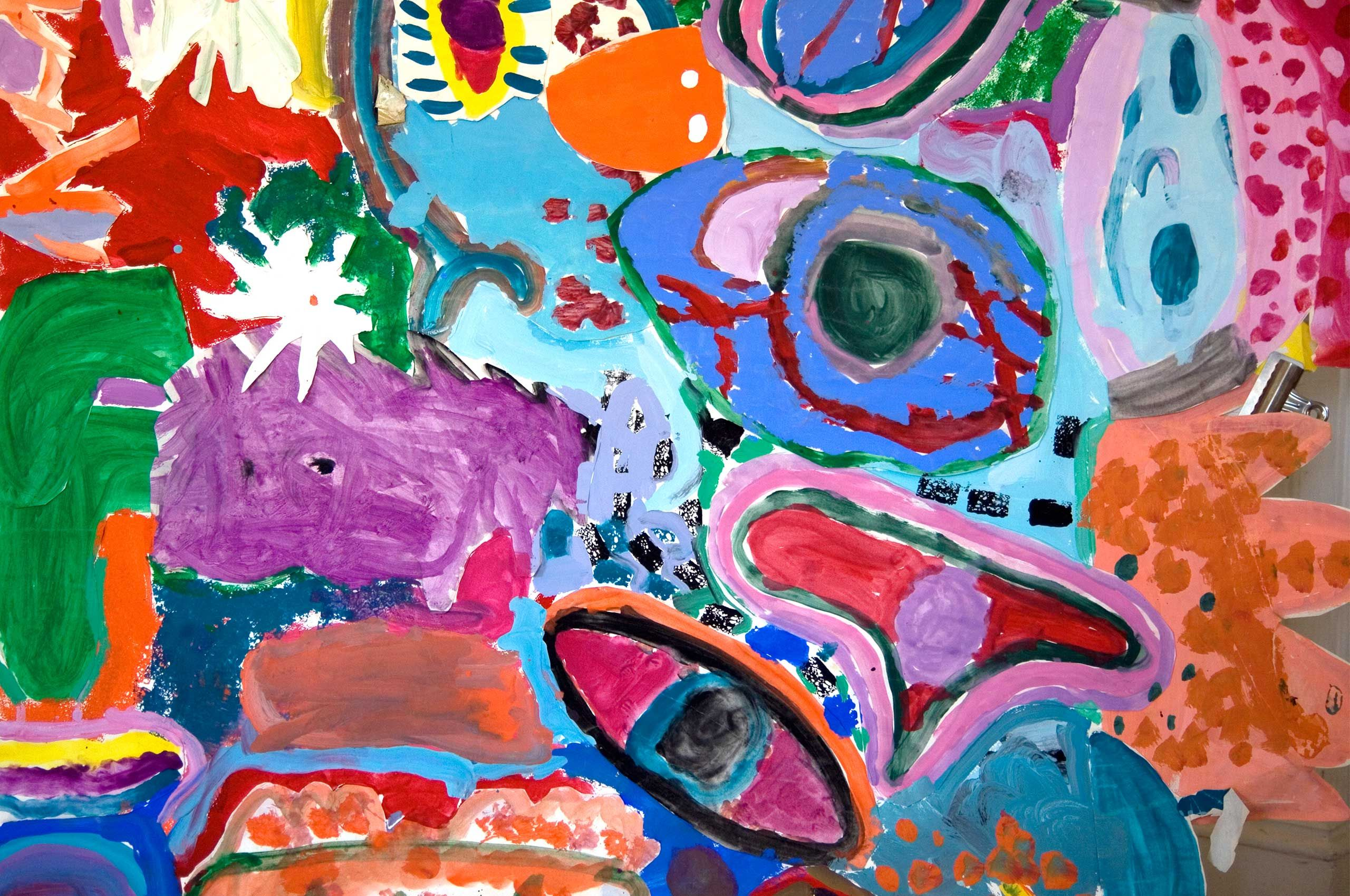 Real studio art for busy kids and busy families. Projects, videos and read-alongs online free to users. Adaptable for groups.