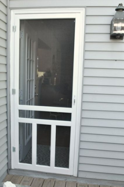 How To Install A Screen Door Install Screen Door Diy Screen Door Old Screen Doors