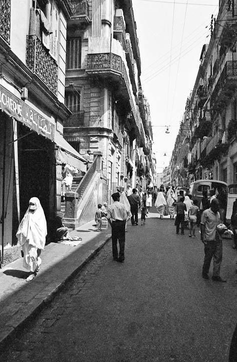 Rue Arbadji A La Casbah Alger Algeria Travel Photo Old Photos