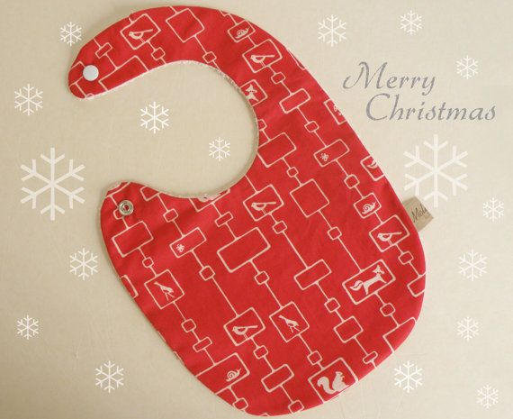Baby bib sweet gift idea for Christmas made by Melimebabybeeshop, $12.00