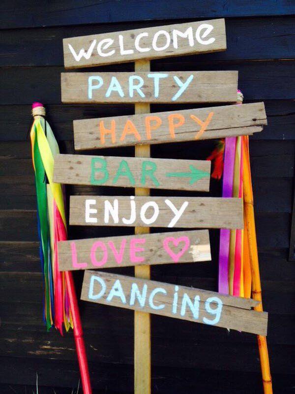 Uitnodiging Ibiza Style Feestje Strand Feest En