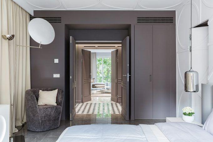 Paris Wohnung Belle Novelle in einem modernen und eklektischen Stil - moderne wohnzimmer gestalten