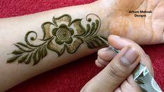 Stylish Beautiful Arabic Mehndi Design for Front Hand || Teej Special Mehndi || Arham Mehndi Designs