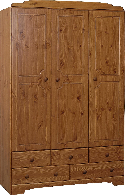 #argos #uk HOME Nordic 3 Door 5 Drawer Wardrobe - Pine. Made & argos #uk HOME Nordic 3 Door 5 Drawer Wardrobe - Pine.: Made with ...