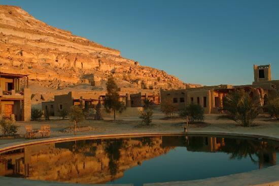 بيوت مدينة شالي القديمة واحة سيوة Ancient Egyptian Architecture Siwa Oasis Egypt