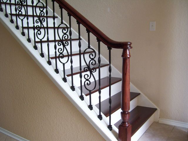 Nice Good Ideas Http Www Texaswoodwrx Com Pages Stairsandrailings Aspx Stairs Railings Stairs White Stair Risers