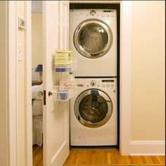 Laundry Closet Stackable Washer Dryer   Google Search