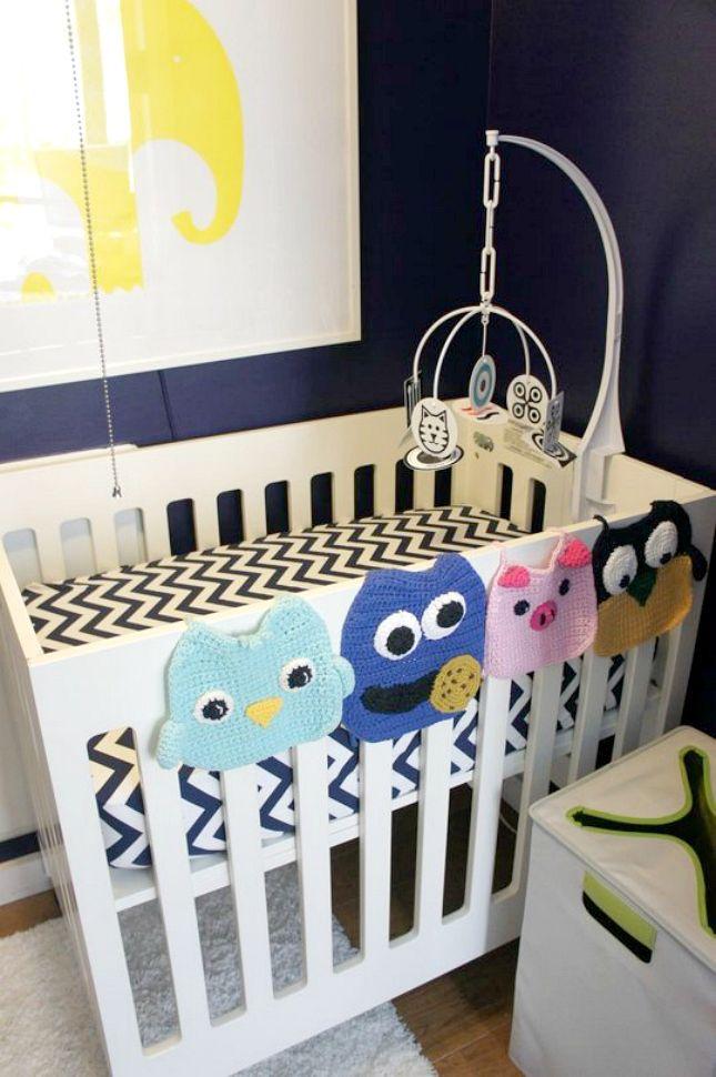 12 Space-Saving Hacks for Your Small Nursery | Small nurseries ...