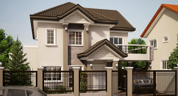 House design with balcony images for House plans with balcony