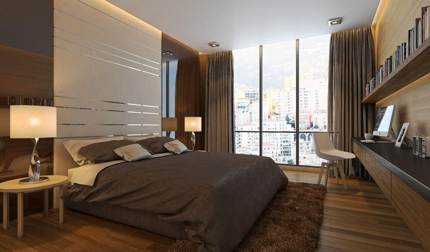 Bed against the window  we design your dreams you deserve the best  archilancers