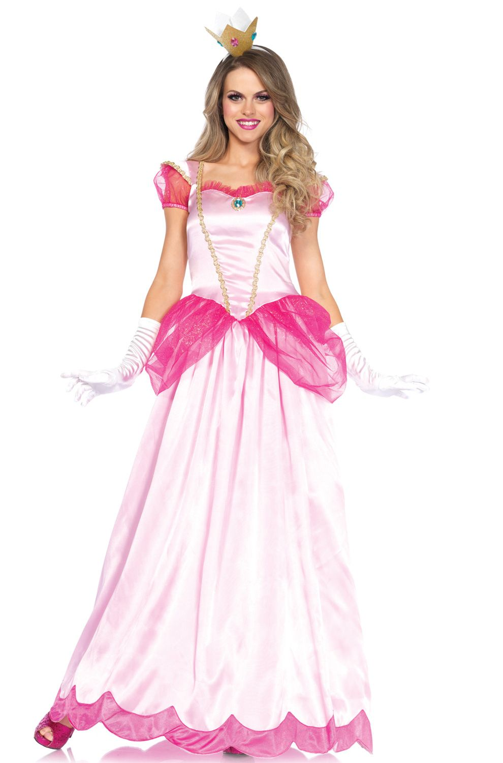 6ca744f20988f Classic Pink Princess Adult Costume | Costume Ideas | Princess peach ...