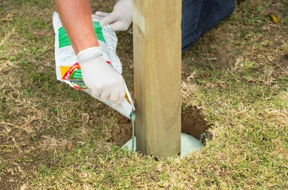 The quicker and easier alternative to instant concrete is part of Concrete posts - Jobs that once needed instant concrete, like putting in a new washing line, mailbox or fence, can now be done much quicker and easier thanks to Sika's new Post Fix  Suitable…
