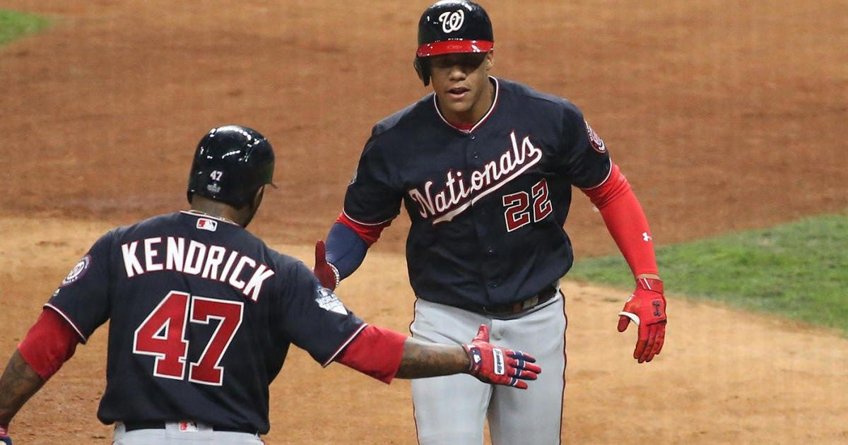 Nationals vs. Astros score Live World Series Game 1
