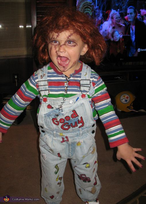 Child Playu0027s Chuckie  sc 1 st  Pinterest & Child Playu0027s Chuckie | Chucky_outfit | Pinterest | Chucky Homemade ...