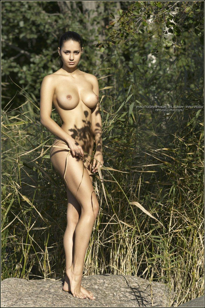 For more classy pics of Helga Lovekaty check out ...
