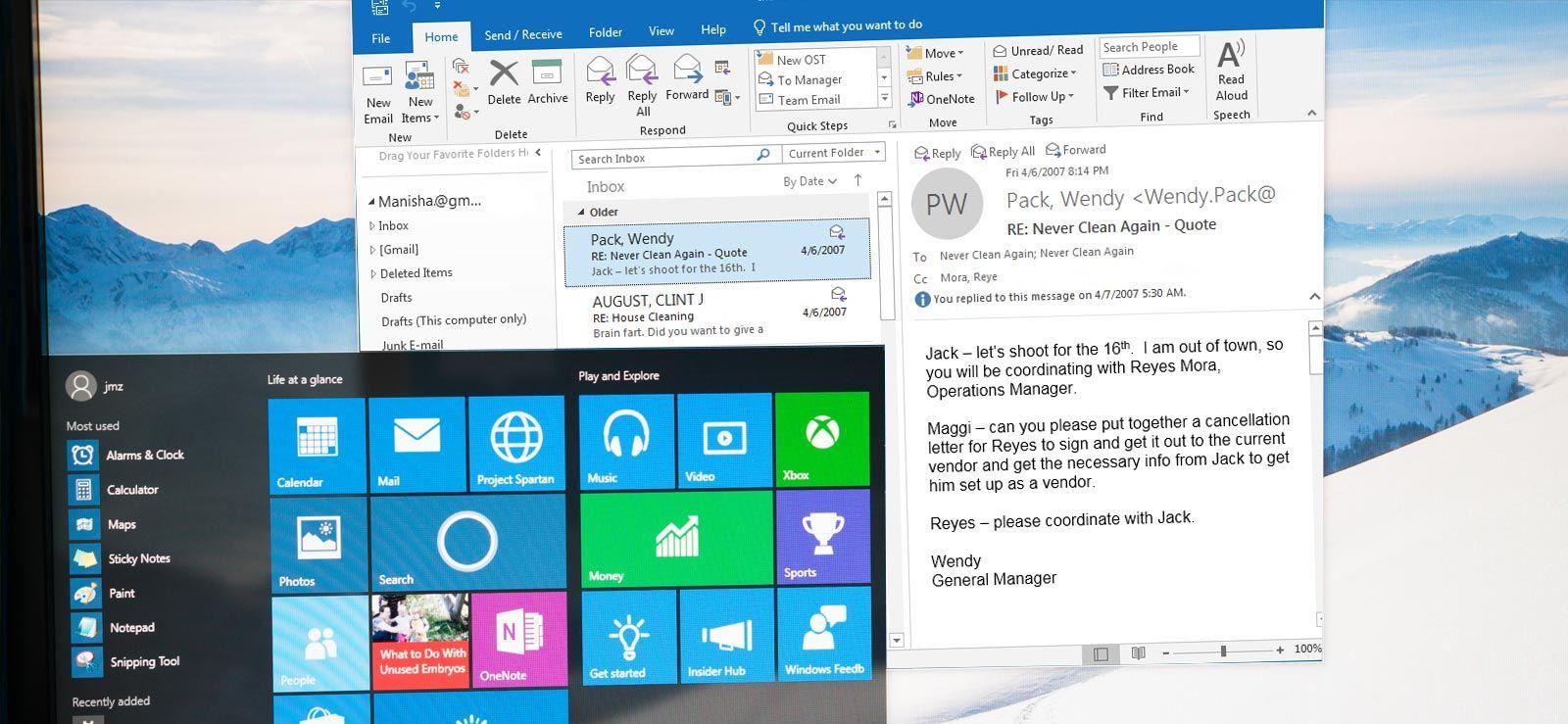 Fix Error Outlook Not Opening in Windows 10 Windows