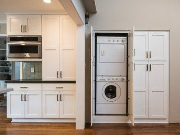 Washing Machine Kitchen Design Ideas Pictures Remodel And Decor Washing Machine In Kitchen Room Door Design Kitchen Design