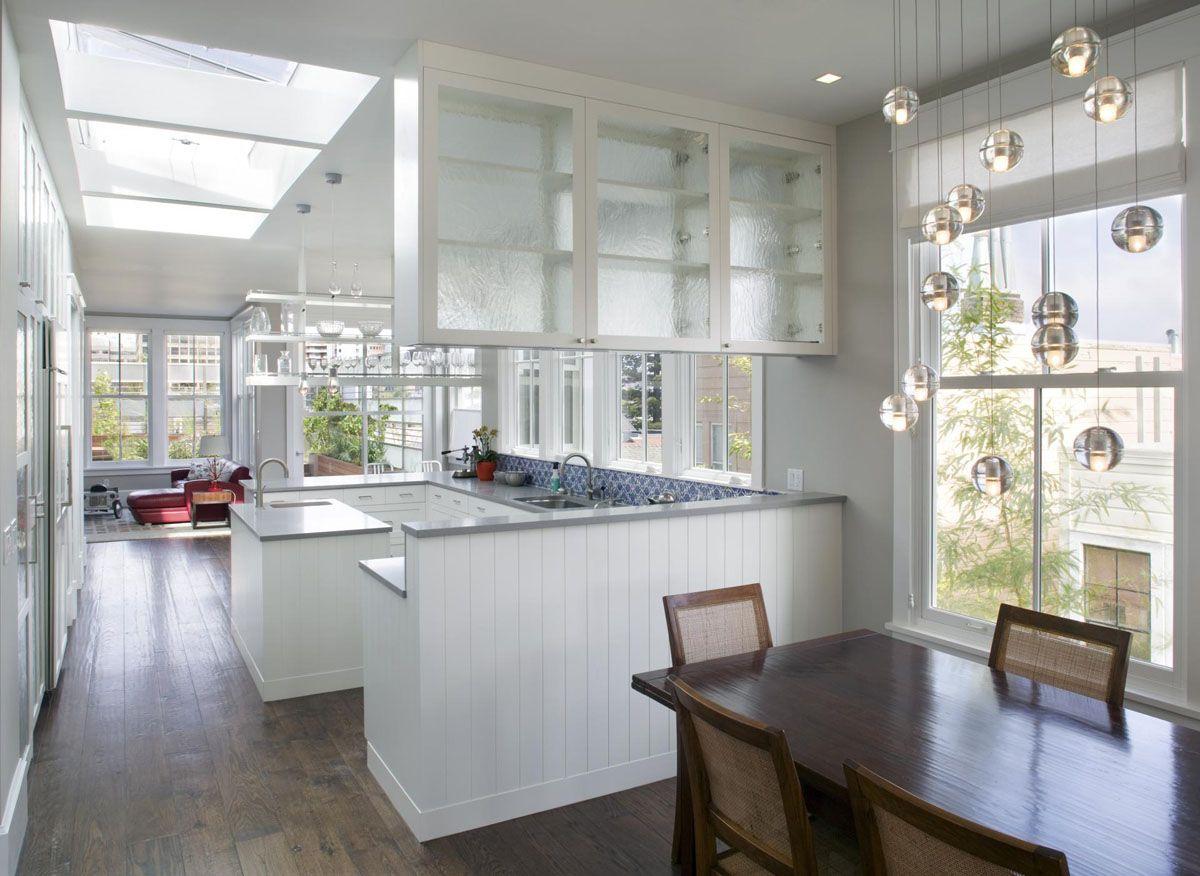 White Modern Kitchen | Rental & Guest Cottage Ideas | Pinterest ...