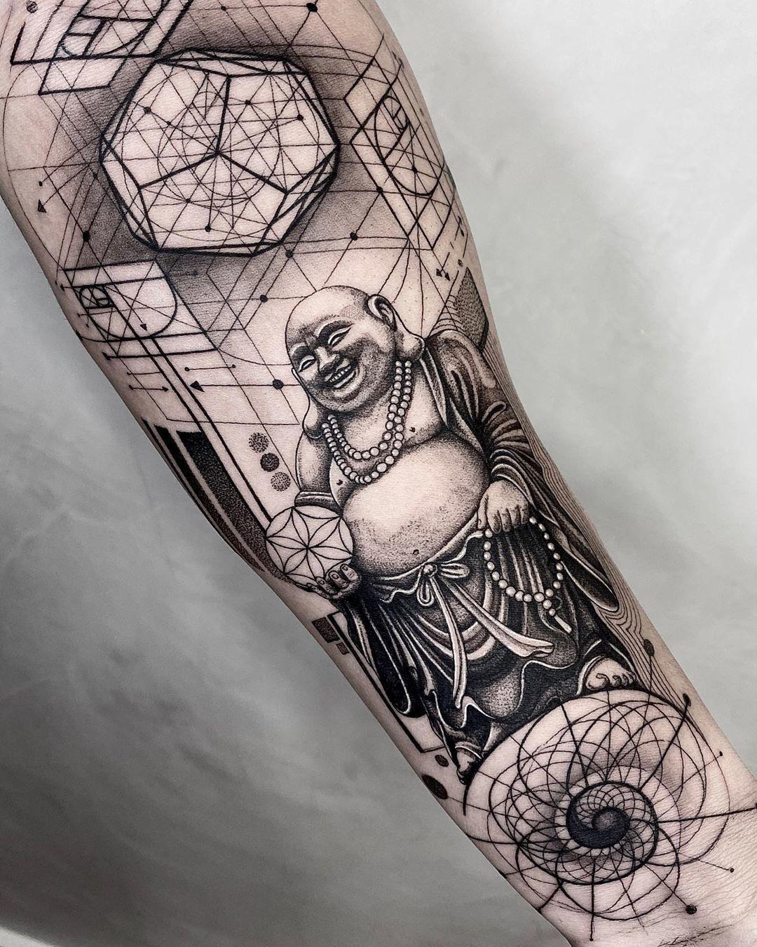 Tattoodo On Instagram Buddha Tattoo Made By Raphafons In Rio De Janeiro Brazil Tattoodo In 2020 Tattoos