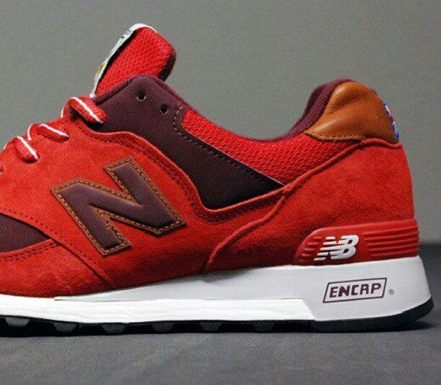 New Balance 577 rojas
