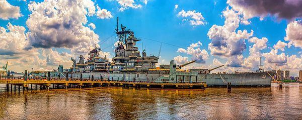 The Battleship New Jersey by Nick Zelinsky