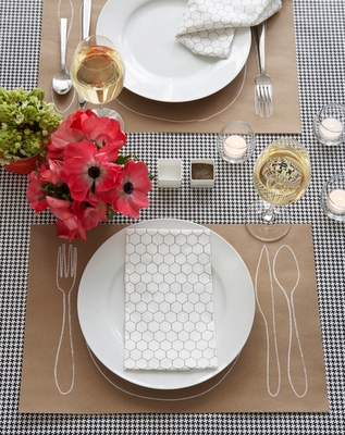 Place Mats for Dinner Party