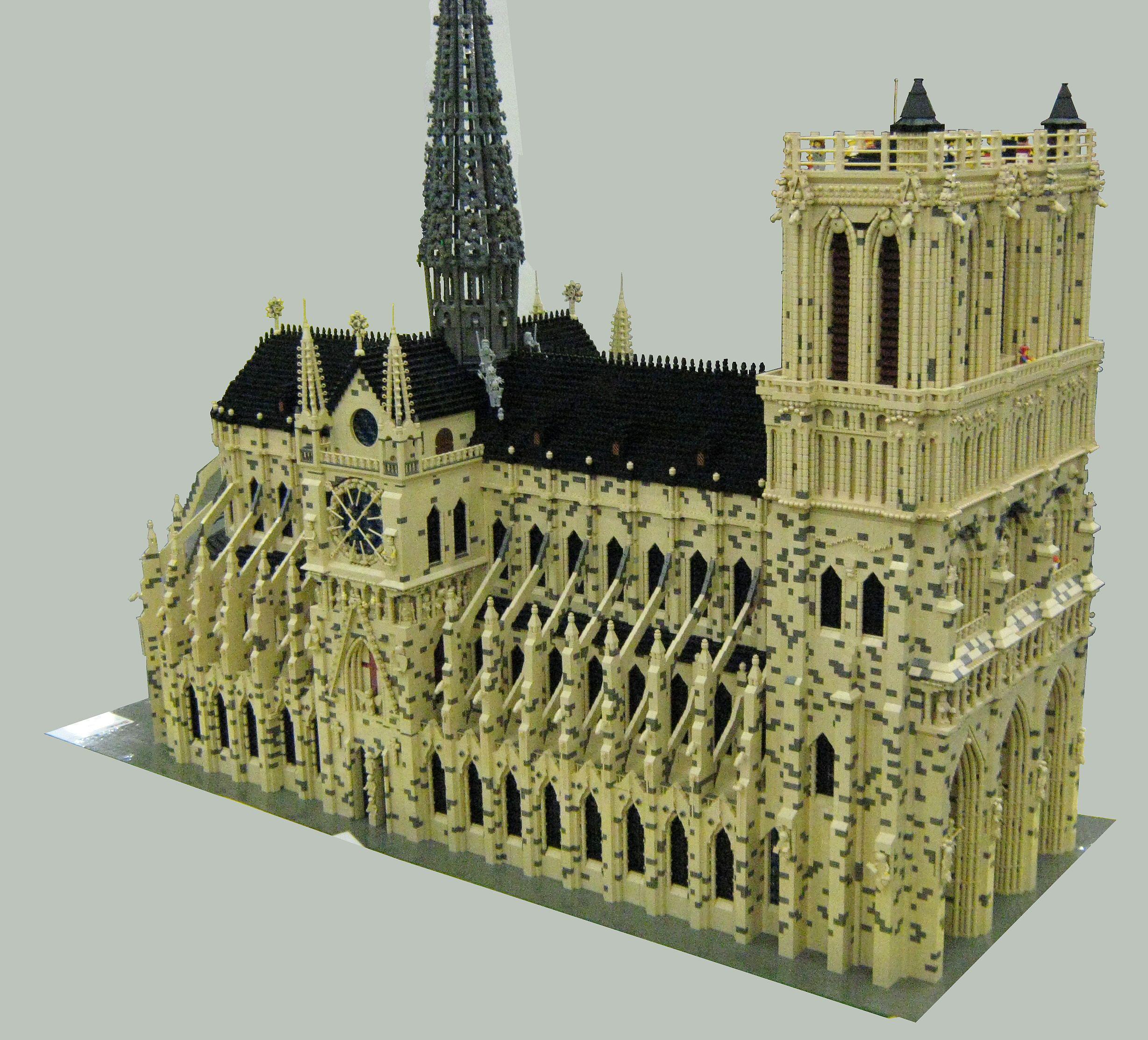 Notre Dame Lego Architecture Legos Lego Worlds