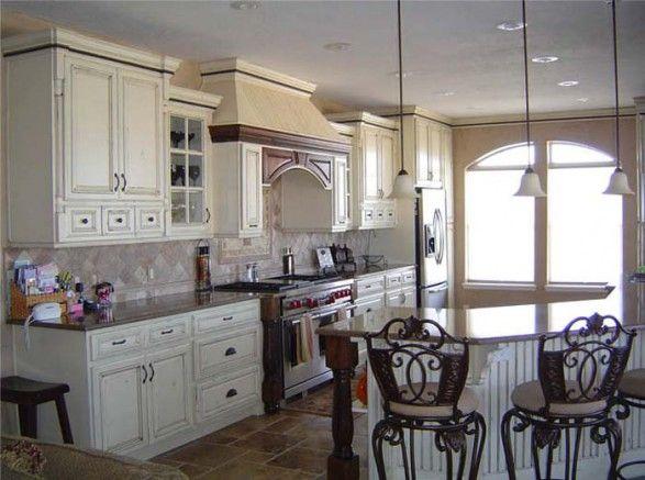 Romantic Country Kitchen Decor romantic french cottage kitchen ideas | ideas to build european