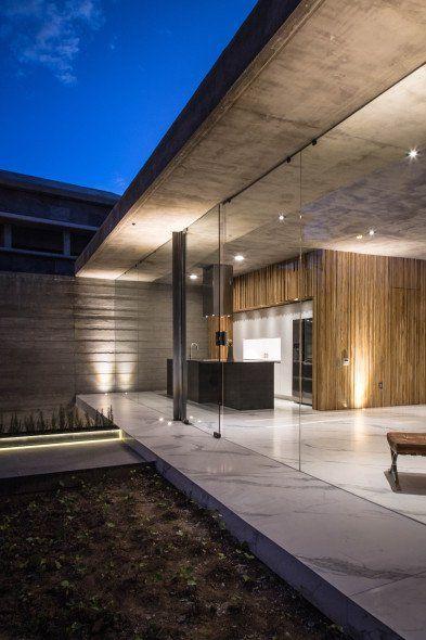 Casa Pabellã N Para Una Sola Persona Arquitectos Arquitectura Casas De Concreto