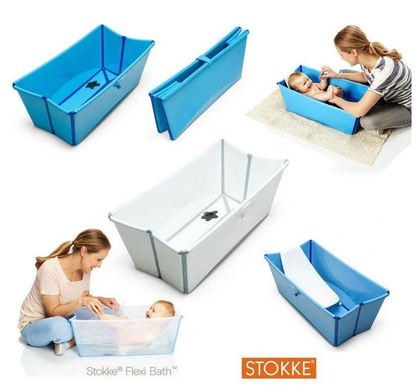Stokke Flexi Bath The foldable baby bath. Stokke Flexi Bath is a ...