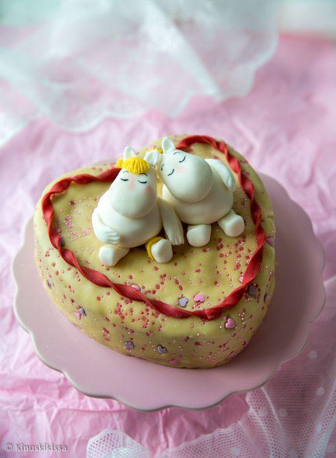 Muumien ystävänpäiväkakku | Reseptit | Kinuskikissa