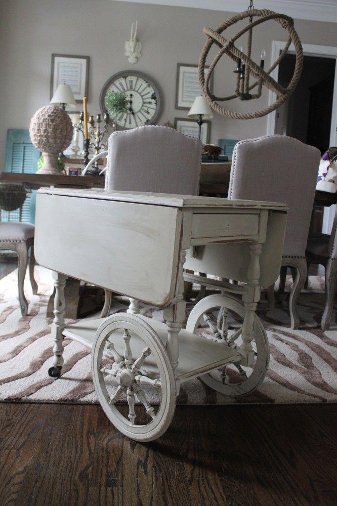 IMG_8505 | Bar cart decor, Bar furniture, Antique tea cart