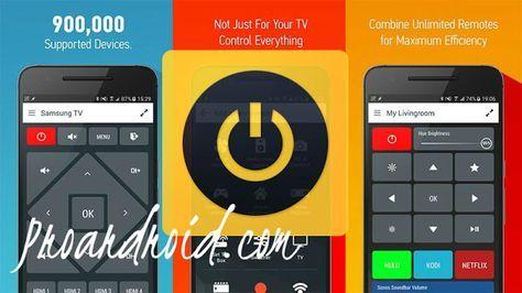 تطبيق Peel Universal Smart TV Remote Control Pro لتحكم عن