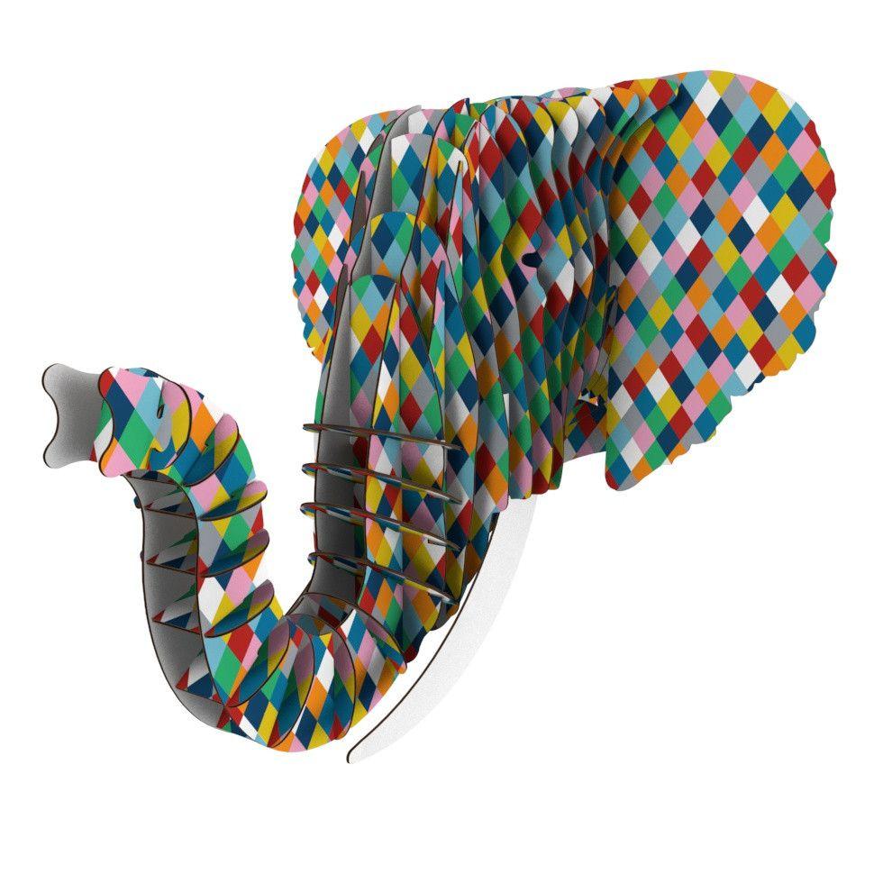 "Project M ""Harlequin"" Eyan Elephant Bust Jr."