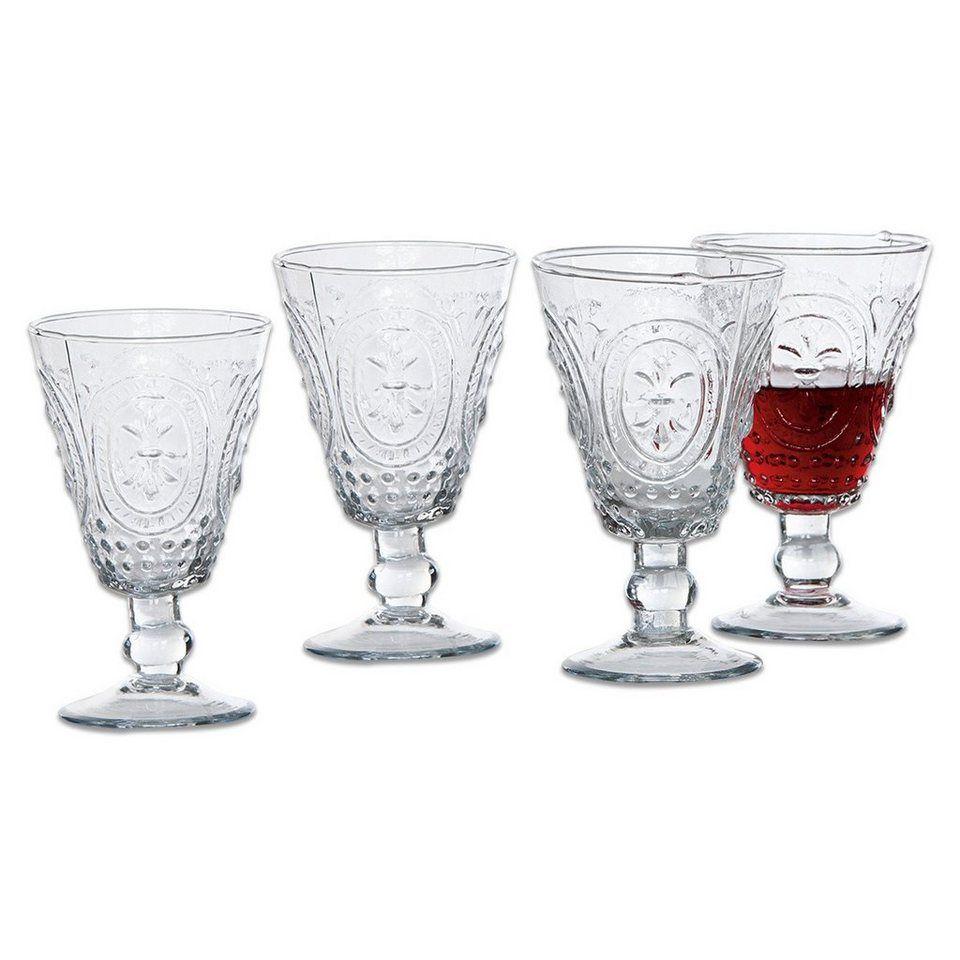 4er Set Weinglaser Cheers Crystal Mikasa 8