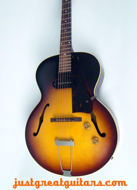 Gibson Es 125 1958 Vintage Guitars Gibson Guitars Guitar