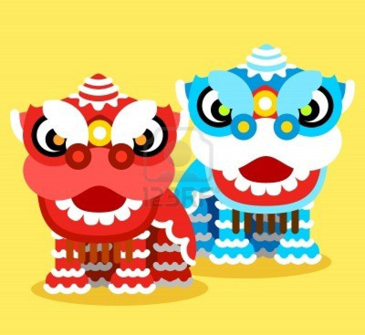 11810255 chinese new year celebration and lion dance jpg 1200 1101 rh pinterest com au  chinese new year dragon clipart black and white