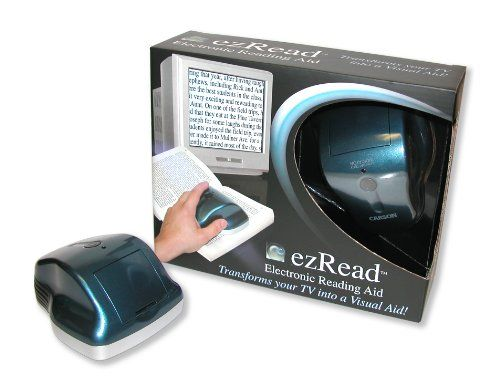 Carson Optical Ezread Visual Aide Magnifier - http://www.huntingfishingstuff.com/carson-optical-ezread-visual-aide-magnifier/