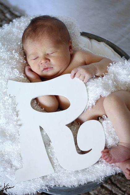 Baby r pic idea