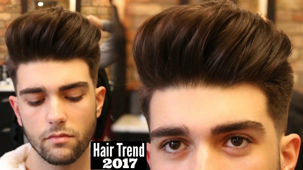 Big Volume Quiff Mens Haircut Hairstyle Trend 2017 Tutorial Youtube New Mens Haircuts Quiff Hairstyles Mens Hairstyles