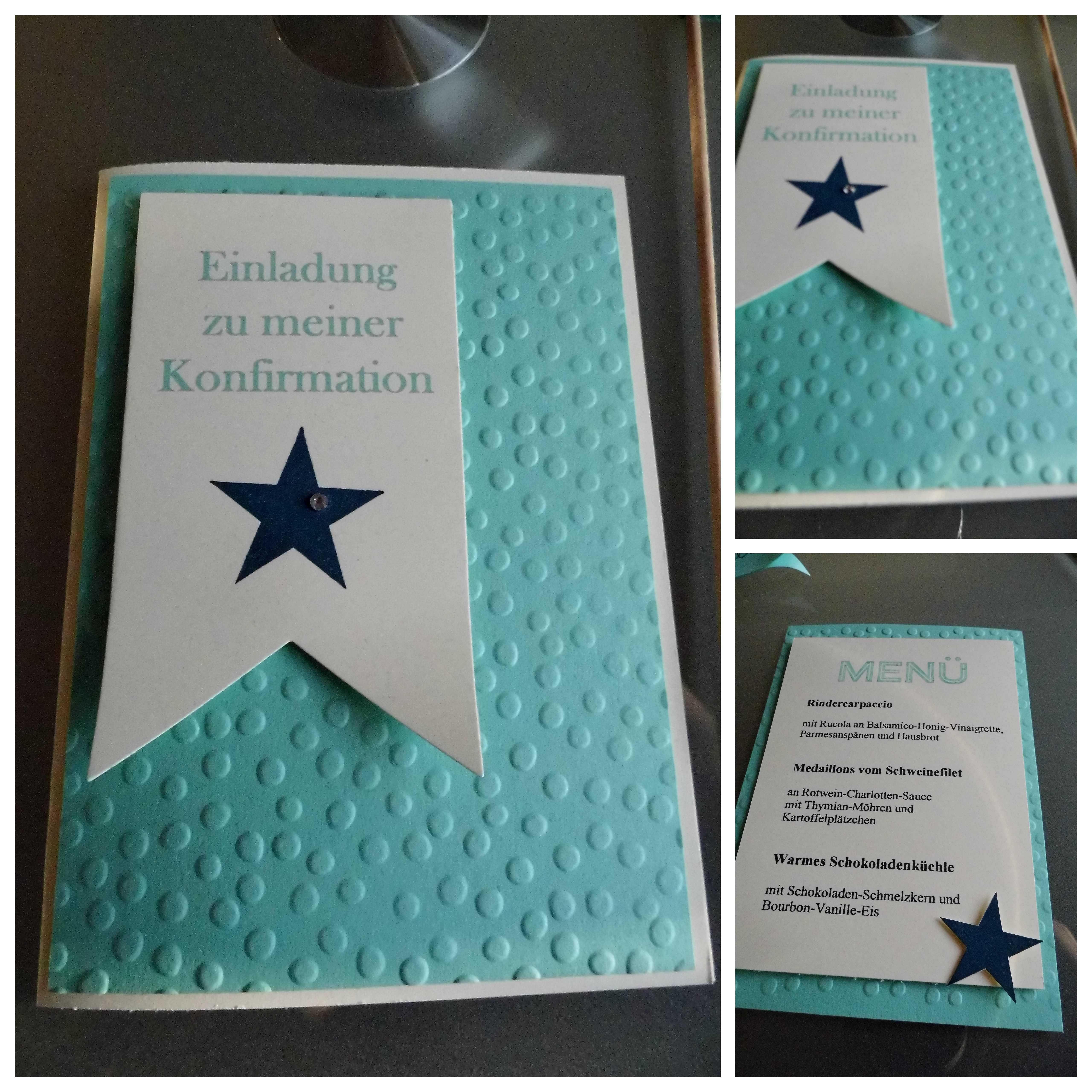 Einladungskarten Zur Konfirmation Selbst Basteln