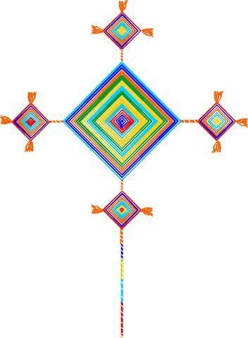 Huichol Gods Eye Gods Eyes Gods Eye Mandala Eyes