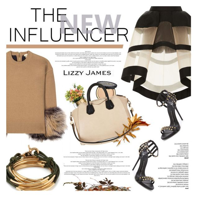 """lizzyjames.com"" by defivirda ❤ liked on Polyvore featuring Delpozo, Michael Kors, Lizzy James, Giuseppe Zanotti, Dot & Bo, Too Faced Cosmetics and Givenchy"